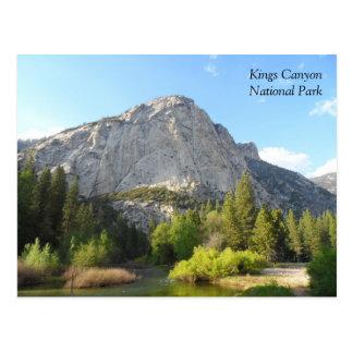 Cartão Postal Parque nacional dos reis Garganta