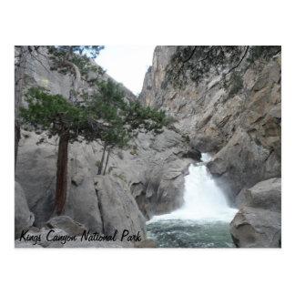 Cartão Postal Parque nacional dos reis Garganta das quedas do
