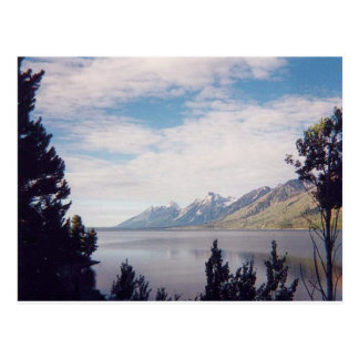 Cartão Postal Parque nacional grande de Tetons