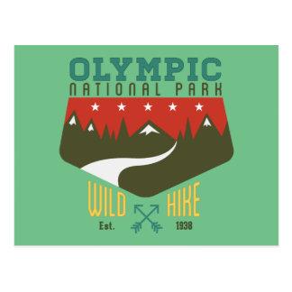 Cartão Postal Parque nacional olímpico