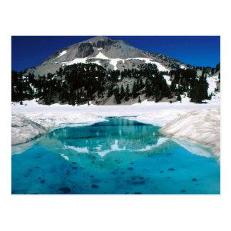 Cartão Postal Parque nacional vulcânico de Lassen, CA