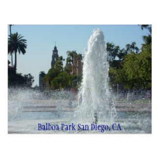 Cartão Postal Parque San Diego do balboa, CA