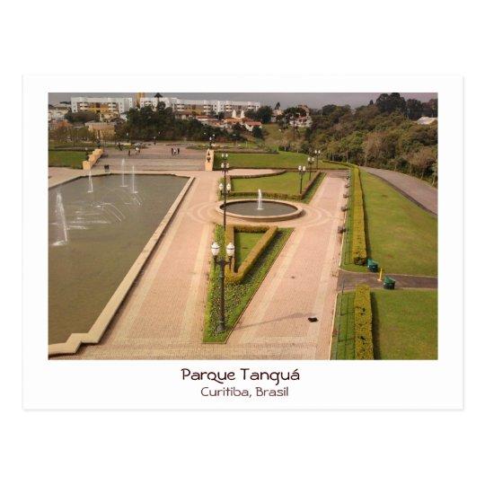 Cartão Postal Parque Tanguá - Curitiba, Brasil