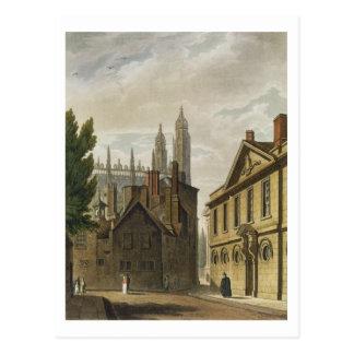 Cartão Postal Parte dianteira da trindade Salão, Cambridge, 'do