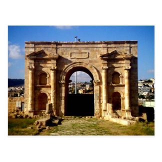 Cartão Postal Parte dianteira romana da estrutura