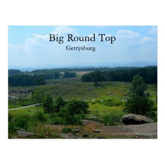 Cartão Postal Parte superior redonda grande em Gettysburg