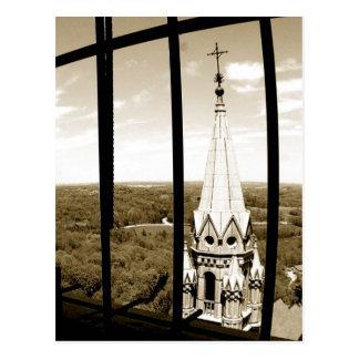 Cartão Postal Parte superior santamente o do monte a torre