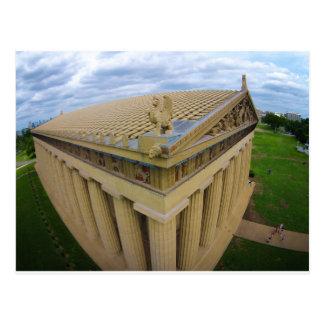 Cartão Postal Partenon