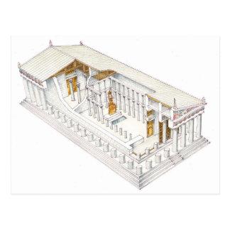 Cartão Postal Partenon Atenas