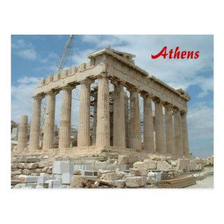 Cartão Postal Partenon - Atenas