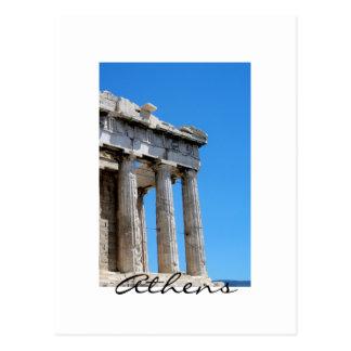 Cartão Postal Partenon de Atenas