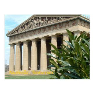 Cartão Postal Partenon em Nashville