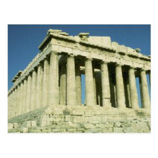 Cartão Postal Partenon grego
