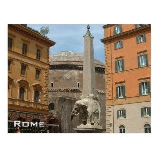 Cartão Postal Partenon - Roma