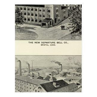 Cartão Postal Partida nova Bell Co, cutelaria Co de Miller Bros