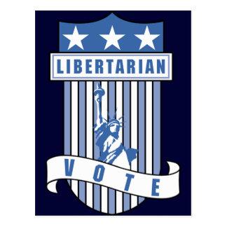 Cartão Postal Partido do libertário