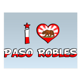 Cartão Postal Paso Robles, CA