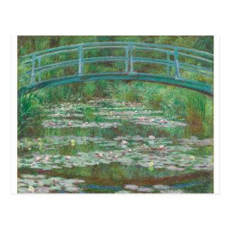 Cartão Postal Passadiço do japonês de Monet-