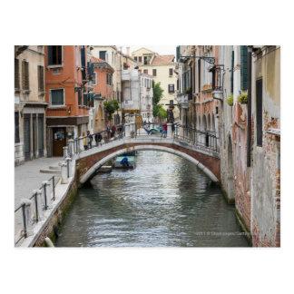 Cartão Postal Passadiço em Veneza