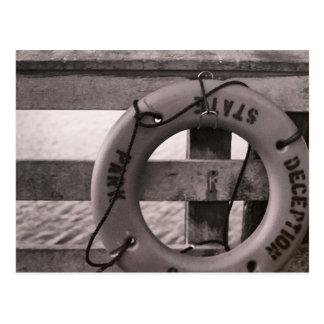 Cartão Postal Passagem da decepção na baía do arqueiro