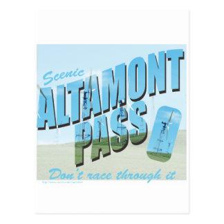 Cartão Postal Passagem de Altamont
