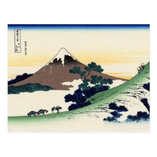Cartão Postal Passagem de Inume na província de Kai