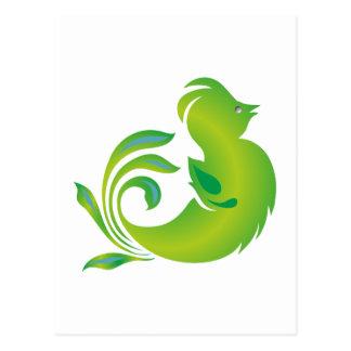 Cartão Postal Pássaro bird