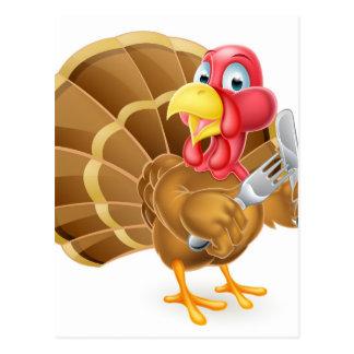 Cartão Postal Pássaro com fome de Turquia