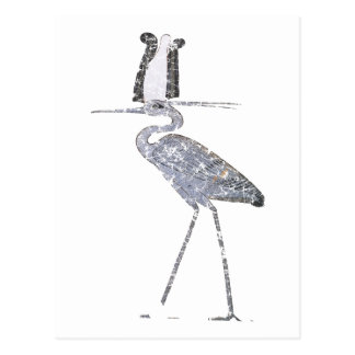 Cartão Postal Pássaro de Benu