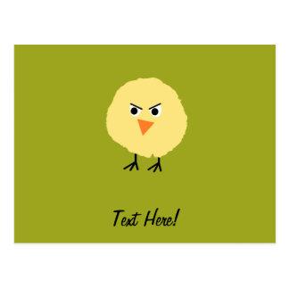 Cartão Postal Pássaro muito virado
