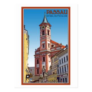 Cartão Postal Passau - Pfarrkirche St Paul
