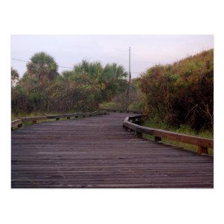 Cartão Postal Passeio à beira mar em Myrtle Beach