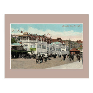 Cartão Postal Passeio à beira mar Scarborough de Luna Park do