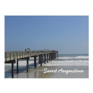 Cartão Postal Passeio à beira mar, St Augustine, Florida