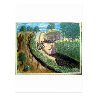 Cartão Postal Passeio à tia Effie