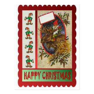 Cartão Postal Passeio da rena