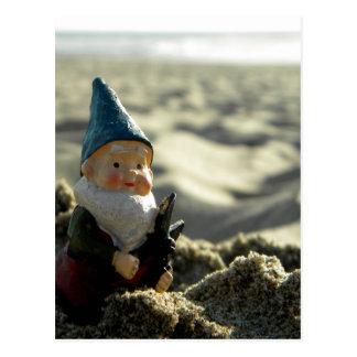 Cartão Postal Passeio na montanha da praia