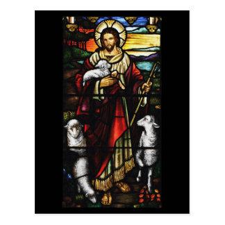 Cartão Postal Pastor e seus carneiros StJohnsAshfiel