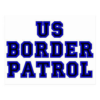Cartão Postal Patrulha fronteiriça dos E.U.