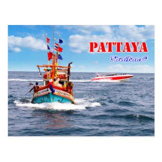 Cartão Postal Pattaya - Tailândia