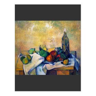 Cartão Postal Paul Cezanne - ainda rum da vida