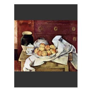 Cartão Postal Paul Cezanne - ainda vida