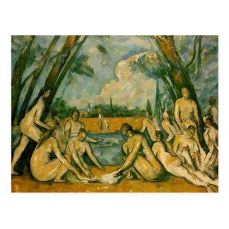 Cartão Postal Paul Cezanne - Bathers