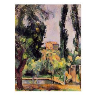 Cartão Postal Paul Cezanne- Jas de Bouffan