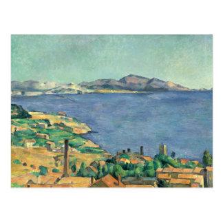 Cartão Postal Paul Cezanne - o golfo de Marselha