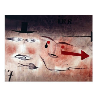 Cartão Postal Paul Klee- dezessete