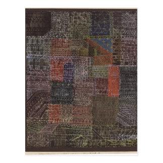 Cartão Postal Paul Klee- II estrutural