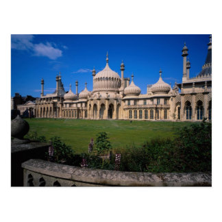 Cartão Postal Pavilhão, Brigghton, Sussex, Inglaterra, Reino