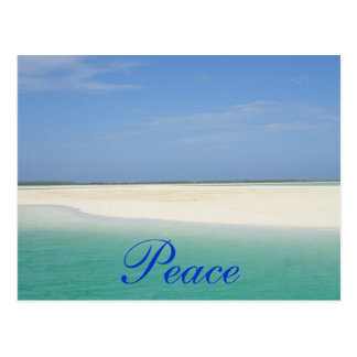 Cartão Postal Paz