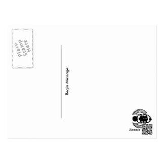 Cartão Postal Paz 2015 do amor